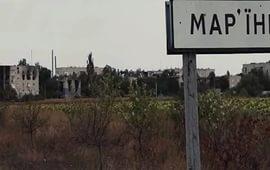 марьинка, атака на марьинку, днр, обстрелы блокпостов