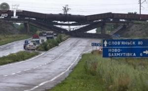 Железная дорога, поезда, Донецкая область, рельсовая война
