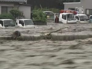 Япония, тайфун, стихия, происшествия, общество