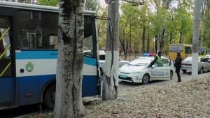 дтп, херсон, пострадавшие, маршрутка, электроопора, происшествия, фото, новости украины