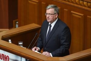 Коморовский, порошенко, политика, общество, упа