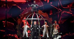 Евровидение, 2019, Hatari, Исландия, смотреть, видео, Израиль, Тель-Авив,  полуфинал, выступление, конкурс, участник, результаты