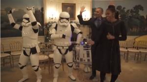 Звёздные войны, 4 мая, Обама, Барак, Мишель, танец