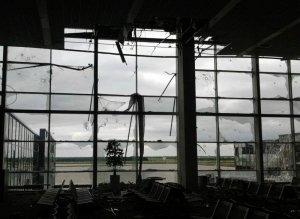 аэропорт, Донецк, обстрел, снаряды, АТо