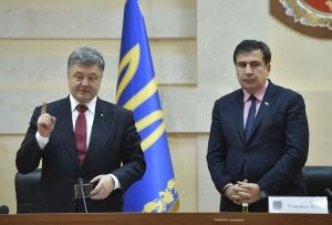 саакашвили, грузия, украина, рух нових сил, алексей минаков, гражданство, скандал, политика, порошенко, гражданство саакашвили, саакашвили лишили гражданства