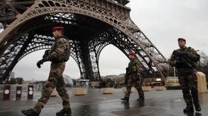 Франция, Париж, Эйфелева башня, терроризм