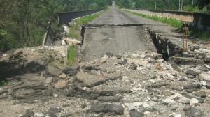 Донбасс, СНБО, мосты, повреждения, АТО