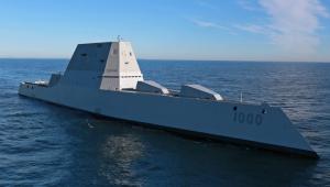 """мир, армия США. США, Америка, испытания, эсминец, DDG-1000 """"Зумвалт"""", общество, политика, оборона"""