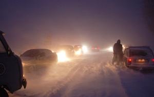 дорога, снег, одесса, автотранспорт, облавтодор