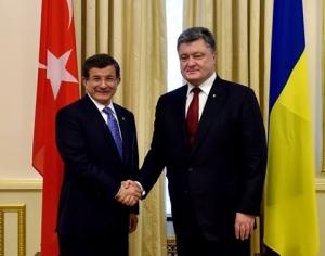 Украина, ДАвутоглу, Турция, Порошенко, политика, общество