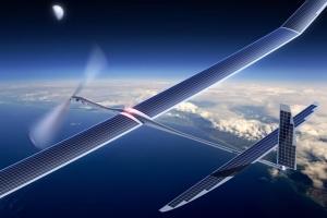 самолет, солнечные батареи, наука, техника, путешествие, исследование