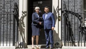 великобритания, тереза мэй, гройсман, кабмин, украина, зст с британией, украина великобритания