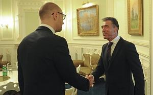 Яценюк, НАТО, Киев, встреча