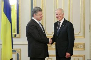 порошенко, байден, переговоры