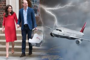 кейт миддлтон, новости великобритании, принц уильям, дети уильяма и кейт, новости королевства, самолет принца уильяма