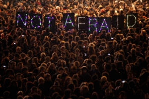 марокко, марш единства, париж, франция, происшествия, общество, мезуар, карикатуры, пророк мухаммед