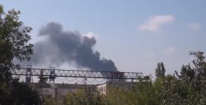 новости донецка, происшествия, днр, юго-восток украины, завод точмаш, обстрел
