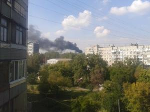 Донецк, Киевский район, обстрелы, град, снаряды, попадания