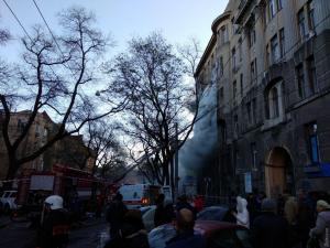 Одесса, пожар, спасатели, оснащение, лестницы, батуты, обувь