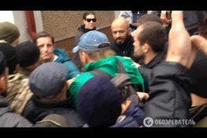 колмогоров, киев, пограничник, нападение, видео, шкиряк, украина