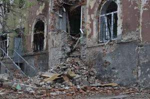 Славянск, АТО, разрушения, жилье