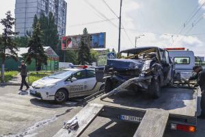 Киев, ДТП, авария, военные, автомобиль, смерть, Украина, ВСУ