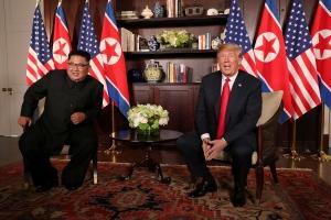 США, политика, КНДР, Дональд Трамп,Ким Чен Ын, встреча