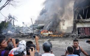 индонезия, происшествия, общество, самолет, авиакатастрофа