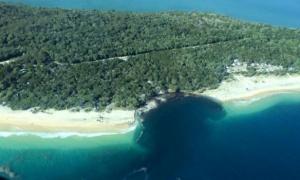 обвал, грунт, австралия, пляж, океан, кемпинг, происшествия