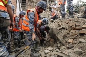 непал, землетрясение, природное явление, общество, трагедия, катастрофа, жертвы, происшествия, NASA