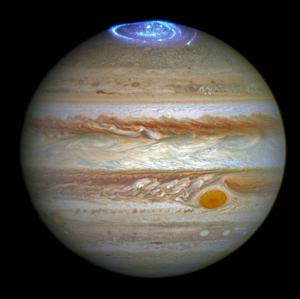Юпитер, сияние на Юпитере, рентгеновское излучение, ученые, NASA,