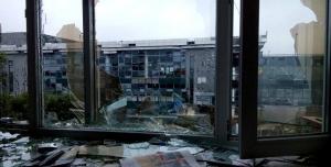 донецк, ато, последствия, многоэтажка, раненые, убитые