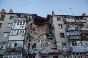 киевский район, обстрелы, днр, повреждения, донбасс, ато