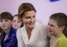 украина, марина порошенко, дети, зона ато