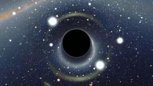 космос, черная дыра,
