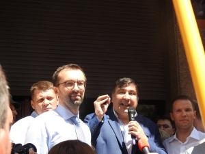 саакашвили, грузия, украина, демальянс, лещенко