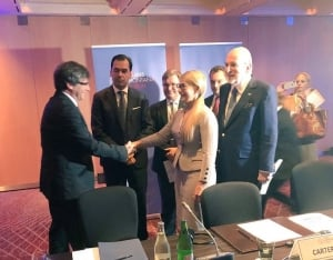 Каталония, Украина, новости, Юлия тимошенко, Карлес Пучдемон, форум в Женеве, спаратизм
