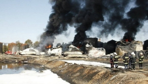 пожар под киевом, пожар на нефтебазе, ГСЧС Украины,