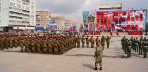 парад победы, 9 мая, день победы, луганск, лнр, обсе, новости, донбасс, ато, украина