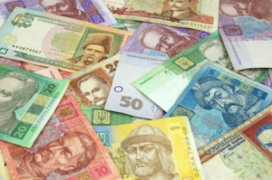 банкноты, гривна, купюры, оборот