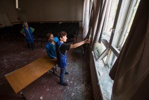 Донецкая область, Донбасс, школы, учебный год, 2014 год, АТО, ДНР