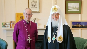 патриарх Кирилл, новости России, РПЦ МП, религия, встреча Кирилла с Уэлби, Британия