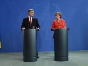 меркель, ляшко, радикальная партия, донбасс, выборы, верховная рада, украина, новости, порошенко, попов