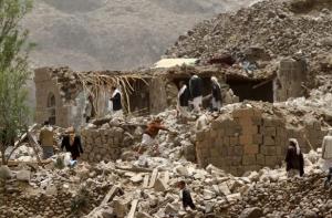 йемен, саудовская аравия, война, общество, бомбежки, военная авиация