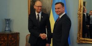 Украина, Польша, Дуда, Яценюк, газ, покупка газа, газ 8 млрд