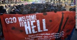 G20, саммит, Путин, Трамп, США, Меркель, Германия, Гамбург, беспорядки, происшествия, большая двадцатка, демонстрация