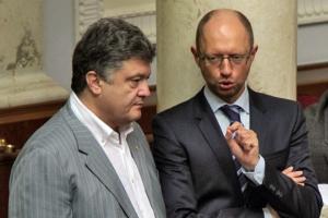Киев, профсоюзы, правительство, Яценюк, Порошенко, встреча, угрозы, протесты