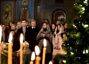 украина, порошенко, рождество, донбасс, ато