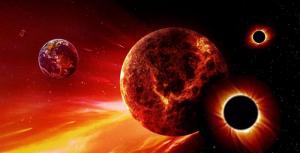 16 июля, космос, парад планет, конец света, лунное затмение