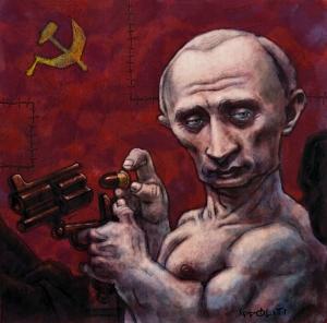 Россия, Украина, Владимир Путин, Алексей Лебединский, политика, общество, шоу-бизнес, критика, Новый год, обращение